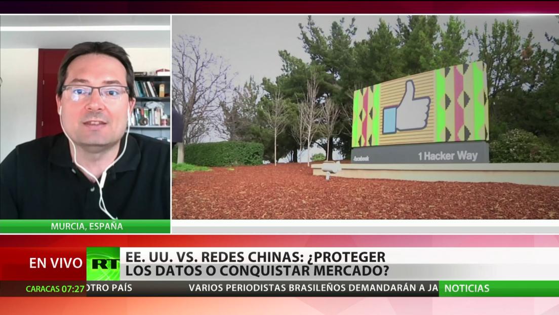 EE.UU. ve una amenaza para la seguridad en las redes sociales chinas