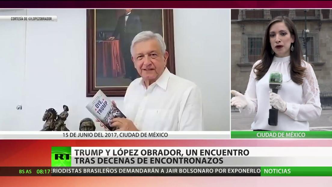 Trump y López Obrador se reúnen en Washington para oficializar el acuerdo económico T-MEC