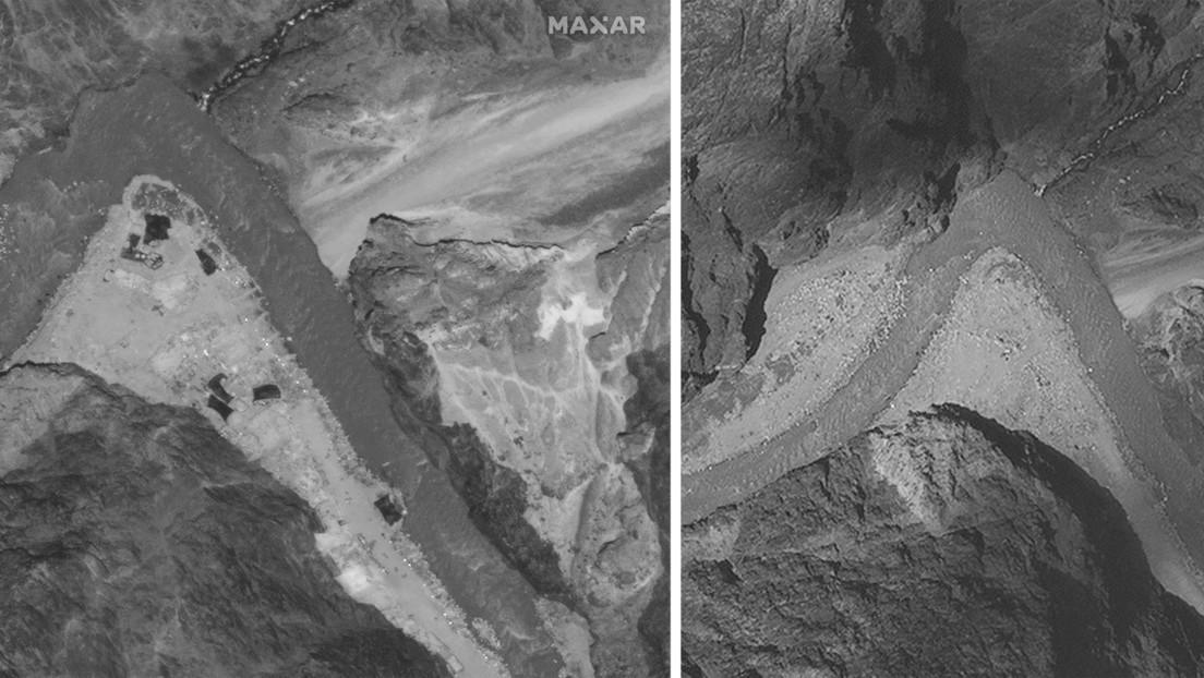 Imágenes satelitales revelan la retirada de tropas de China e India de la zona fronteriza disputada