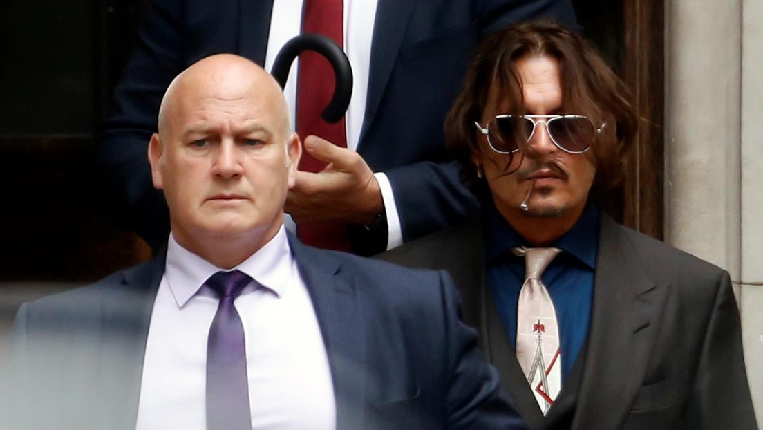 Johnny Depp demanda a un diario británico por afirmar que agredía a su exesposa