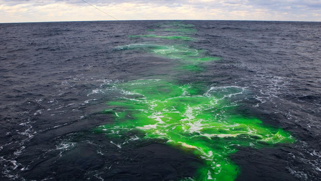Encuentran al norte del Atlántico la primera prueba directa de la mezcla oceánica en la Corriente del Golfo