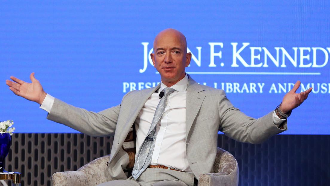 La fortuna de Jeff Bezos alcanza los 182.600 millones de dólares y bate un nuevo récord