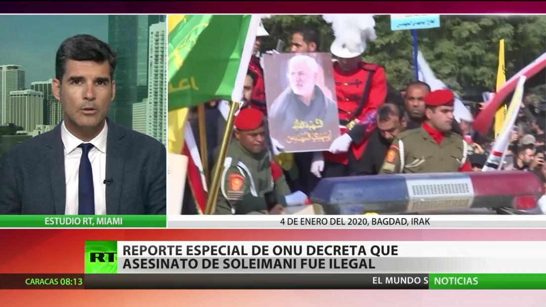 La ONU califica de ilegal e injustificado el asesinato del general iraní Soleimani por parte de EE.UU.
