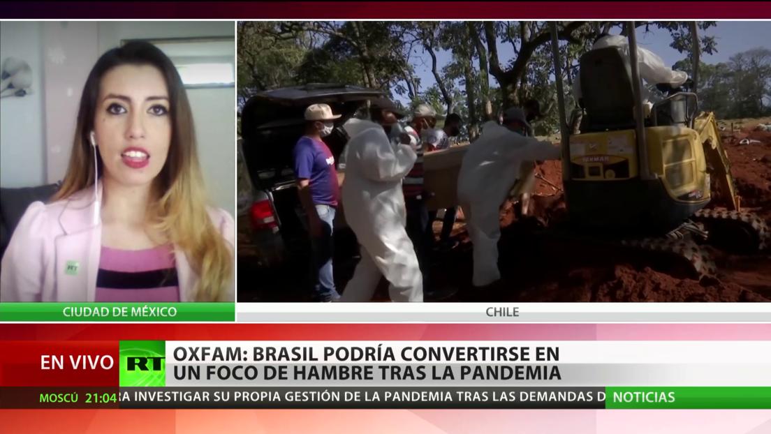 Una ONG predice muertes por hambre debido a la pandemia, y menciona a Brasil como uno de los epicentros