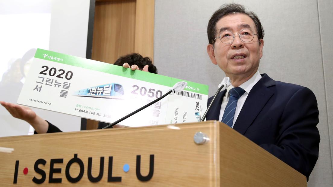 """""""Me disculpo con todo el mundo"""": Revelan el contenido de la nota de suicidio del alcalde de Seúl"""
