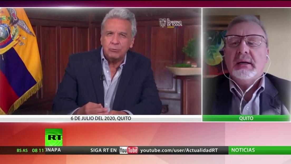 """Experto: """"Las claves de la crisis en Ecuador son la corrupción y la lucha interna en el Gobierno de Moreno"""""""