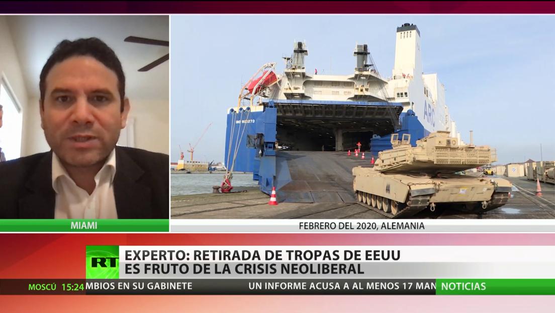 EE.UU. reinicia ejercicios militares en el continente Europeo, pero reduce el número de tropas