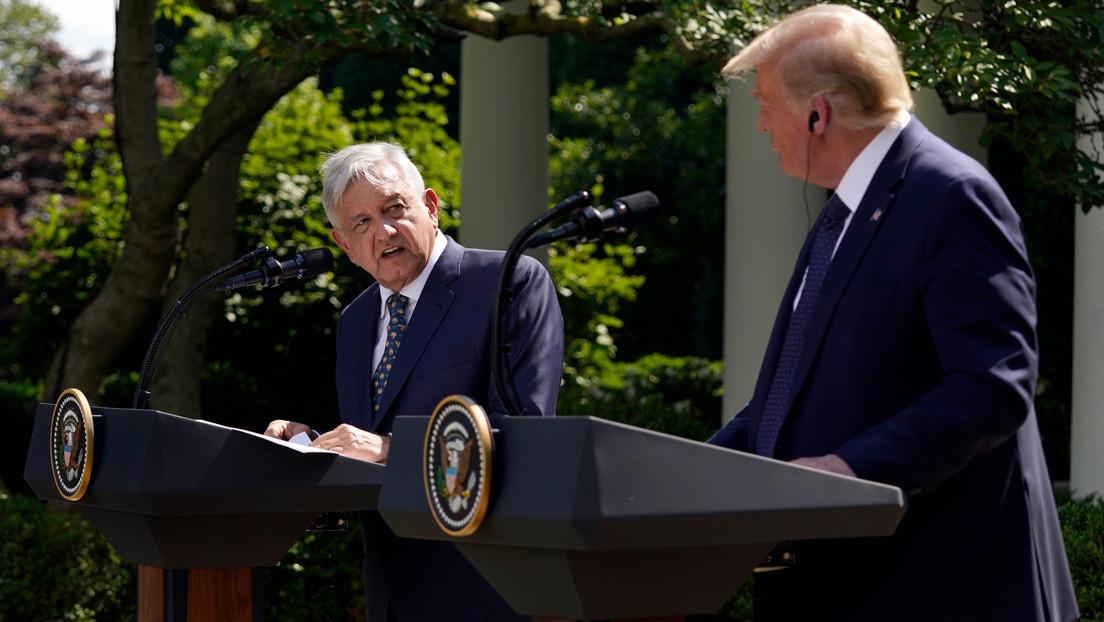 López Obrador agradece a Trump no tocar el tema del muro fronterizo durante su visita a EE.UU.