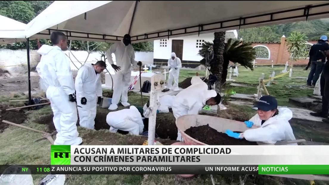 Acusan a militares de Colombia de complicidad con crímenes paramilitares