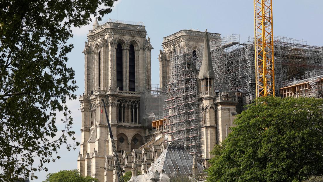 Notre Dame de París será reconstruida de manera idéntica a su estado previo al incendio
