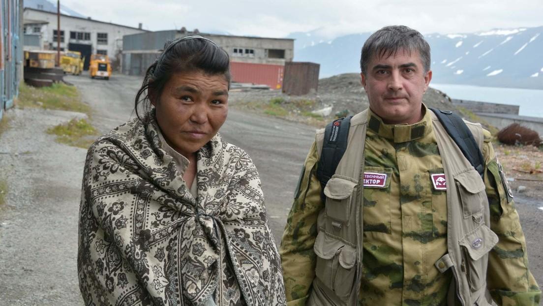 Una mujer sobrevive dos semanas perdida en la tundra de Chukotka