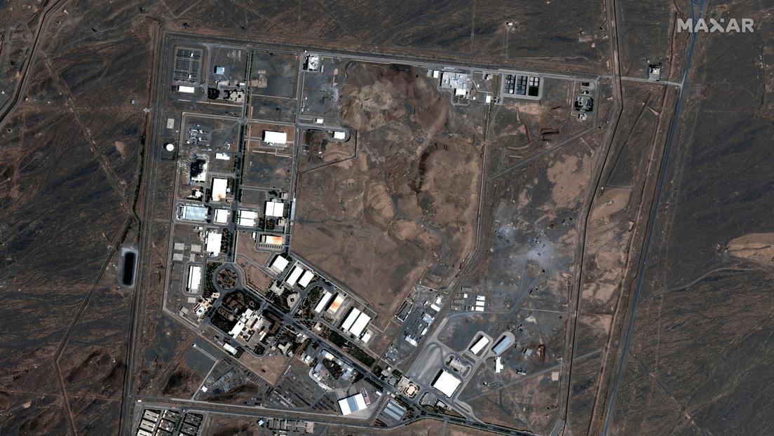 """Irán promete """"consecuencias"""" en caso de que agentes extranjeros estén tras el incidente en la instalación nuclear de Natanz"""