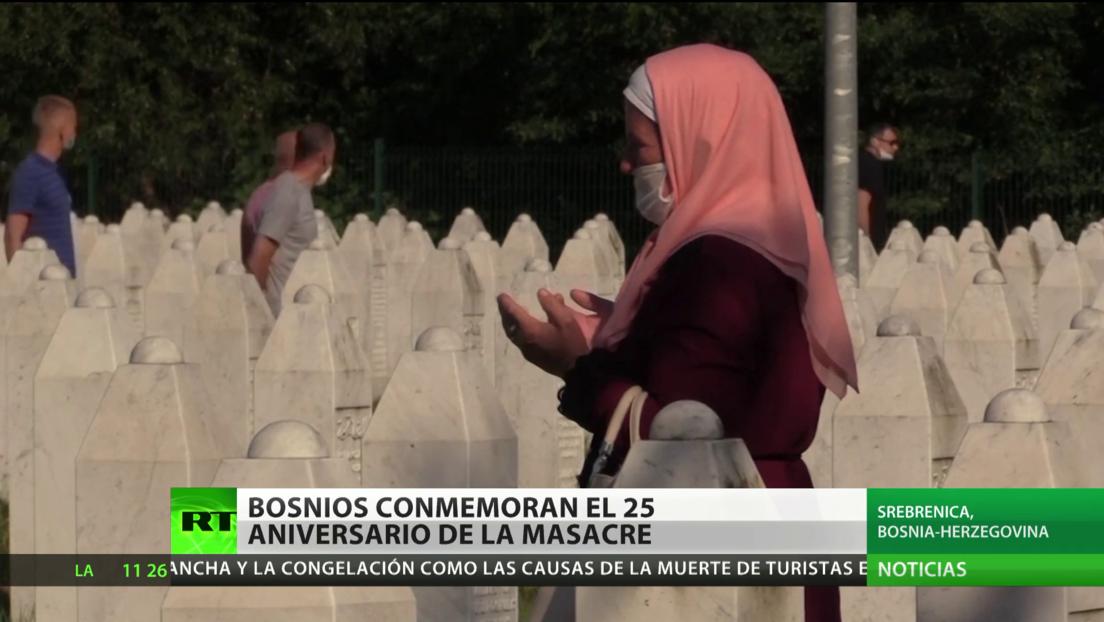 Bosnia y Herzegovina recuerda a las víctimas de la masacre de Srebrenica