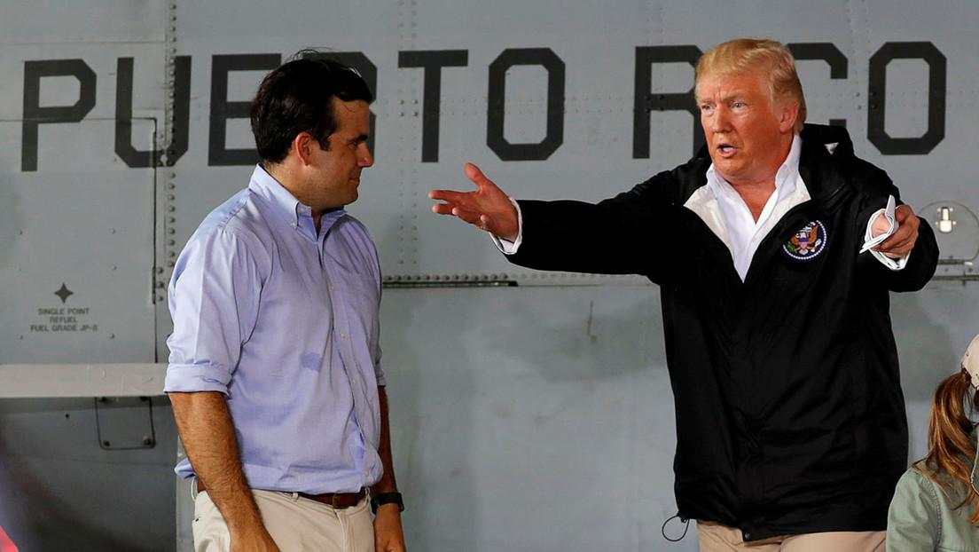 Trump habría considerado vender Puerto Rico tras huracán de 2017