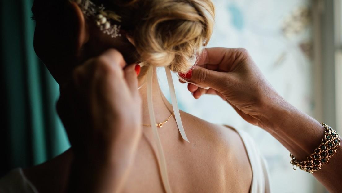 Una novia muere en su banquete de boda tras comer unos bombones