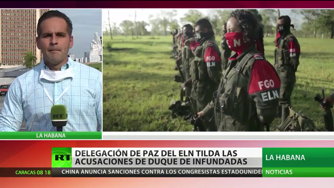 La delegación negociadora del ELN reafirma no tener vínculos con el atentado contra la Escuela de Cadetes en Bogotá