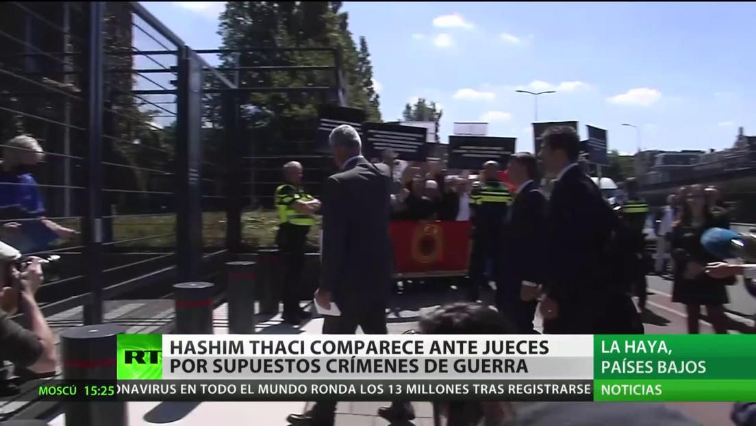 El líder de Kosovo comparece ante la Justicia internacional por crímenes de guerra