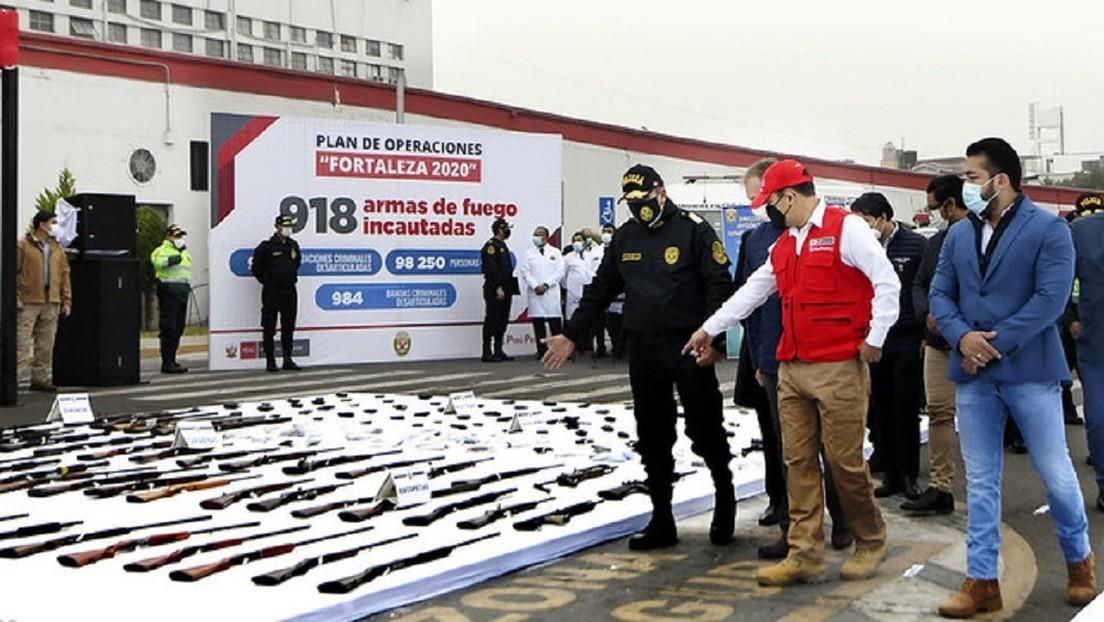 La Policía de Perú desbarata casi mil bandas delincuenciales en medio de la emergencia sanitaria