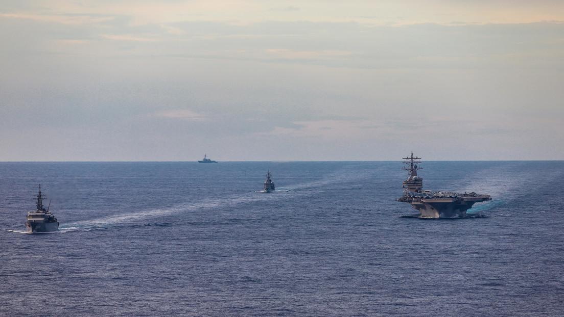 """China insta a EE.UU. a detener sus """"intentos de perturbar y sabotear la paz y la estabilidad"""" en el mar de la China Meridional"""