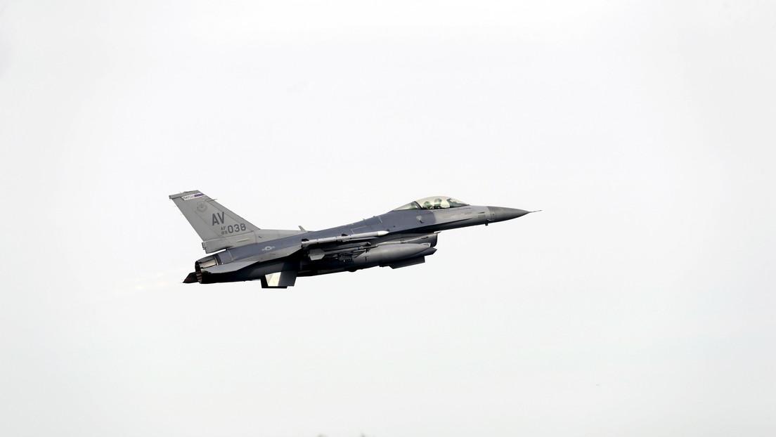 Un avión F-16 de la Fuerza Aérea de EE.UU. se estrella en Nuevo México