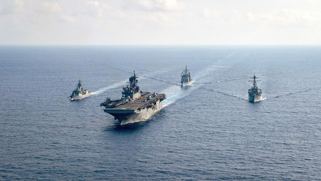 """China a Pompeo: """"Fue EE.UU. el que sacó músculo al mandar su aviación militar avanzada al mar de la China Meridional y causó la inestabilidad allí"""""""