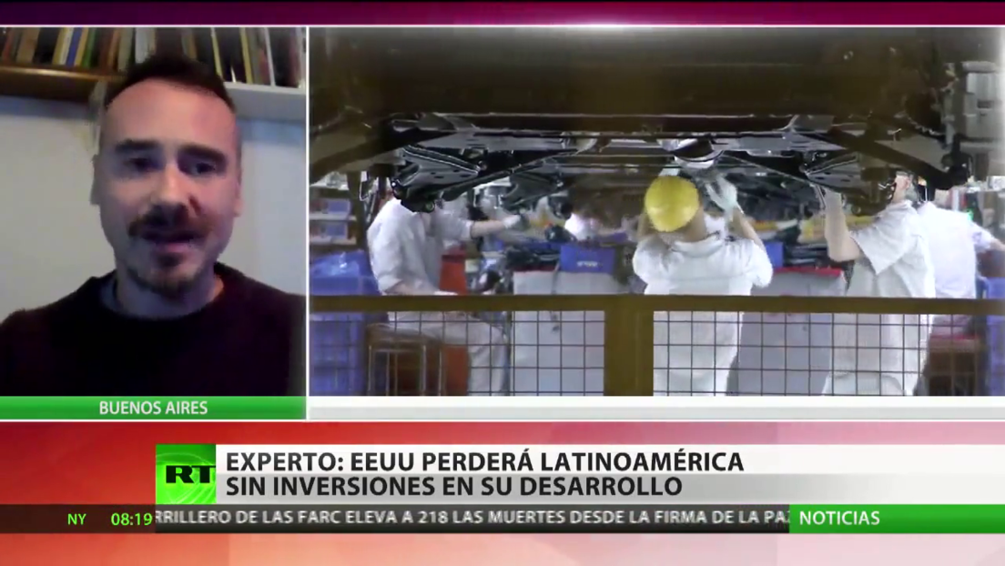 Cruce de intereses: ¿pierde EE.UU. su poder en América Latina ante China?