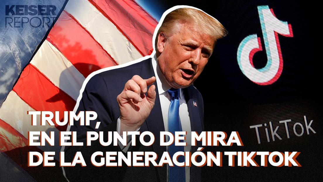Trump, en el punto de mira de la generación TikTok