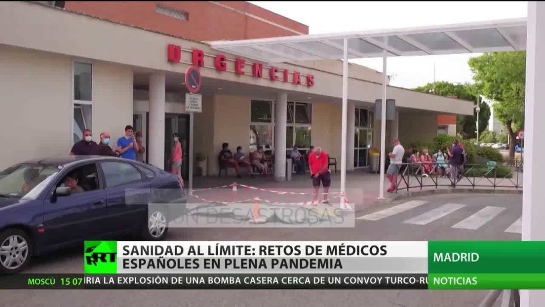España: Huelga indefinida de médicos internos en Madrid contra de la precariedad del sector