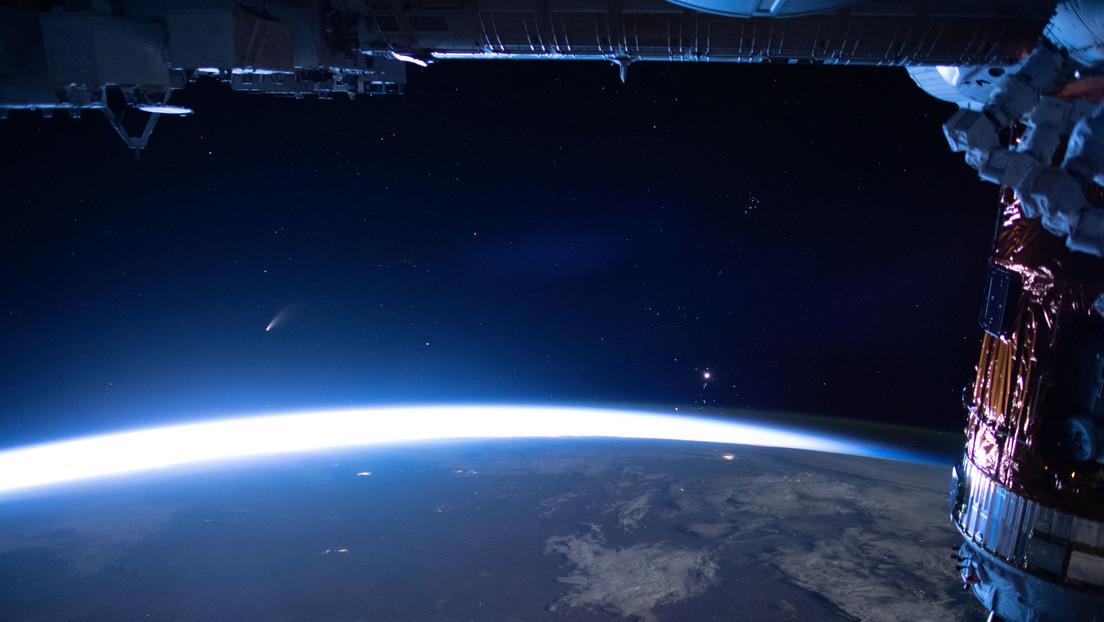VIDEO: Así se ve desde el espacio cómo se acerca el cometa NEOWISE, que no volverá a ser visible durante miles de años