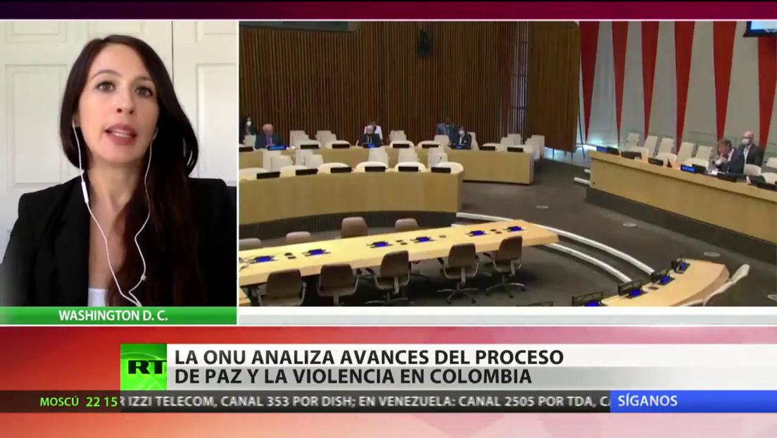 La ONU analiza los avances del proceso de paz en Colombia
