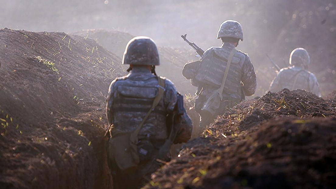 VIDEO: Armenia asegura haber derribado un dron azerbaiyano mientras continúan los enfrentamientos fronterizos
