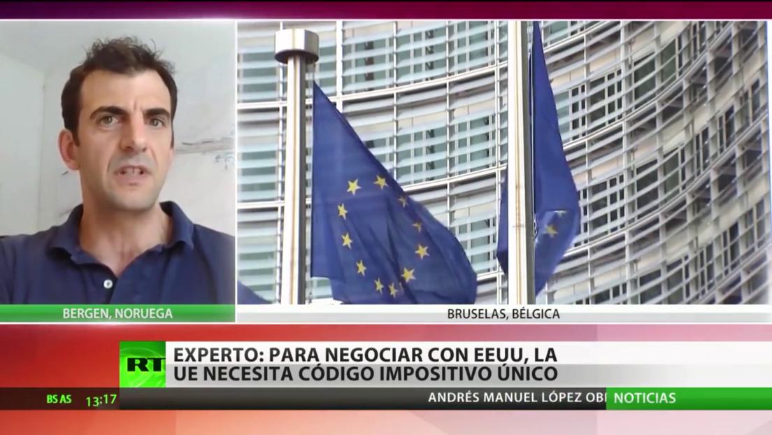 Experto: Para negociar con Washington, la UE necesita un código impositivo único