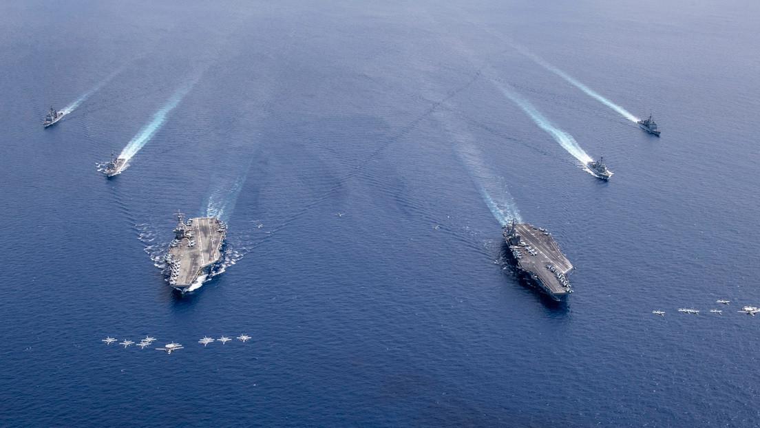 """La armada de EE.UU. realiza una operación de """"libertad de navegación"""" en el Caribe para desafiar el """"excesivo reclamo marítimo de Venezuela"""""""