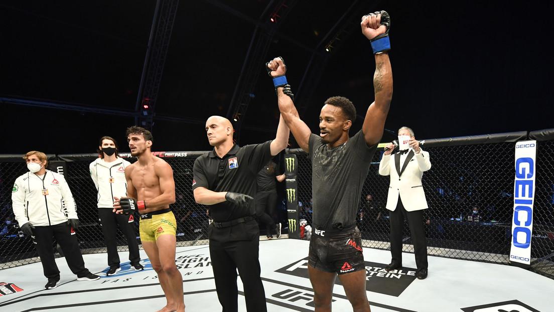 FOTOS: Lerone Murphy mantiene su invicto en la UFC tras destrozar a 'martillazos' a su rival
