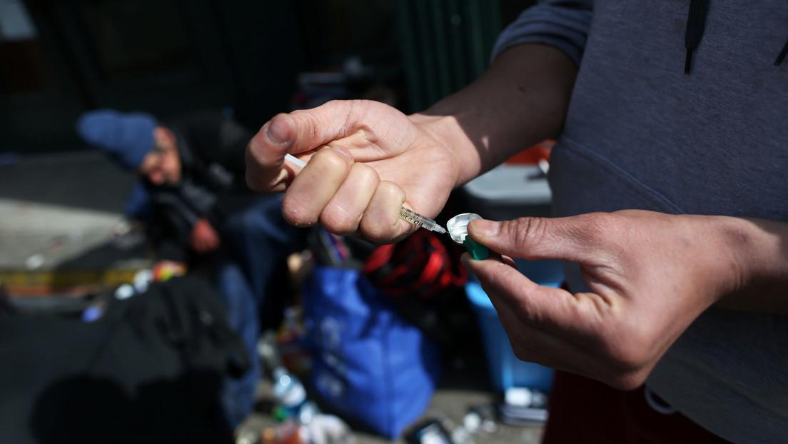 Epidemia de drogas en EE.UU. deja récord de más de 70.000 muertes por sobredosis en 2019