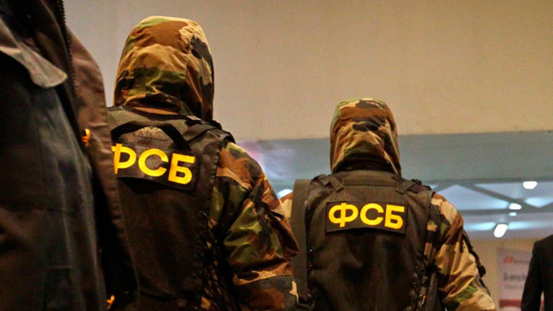 El FSB detiene a un hombre que planeaba atentar en Rusia