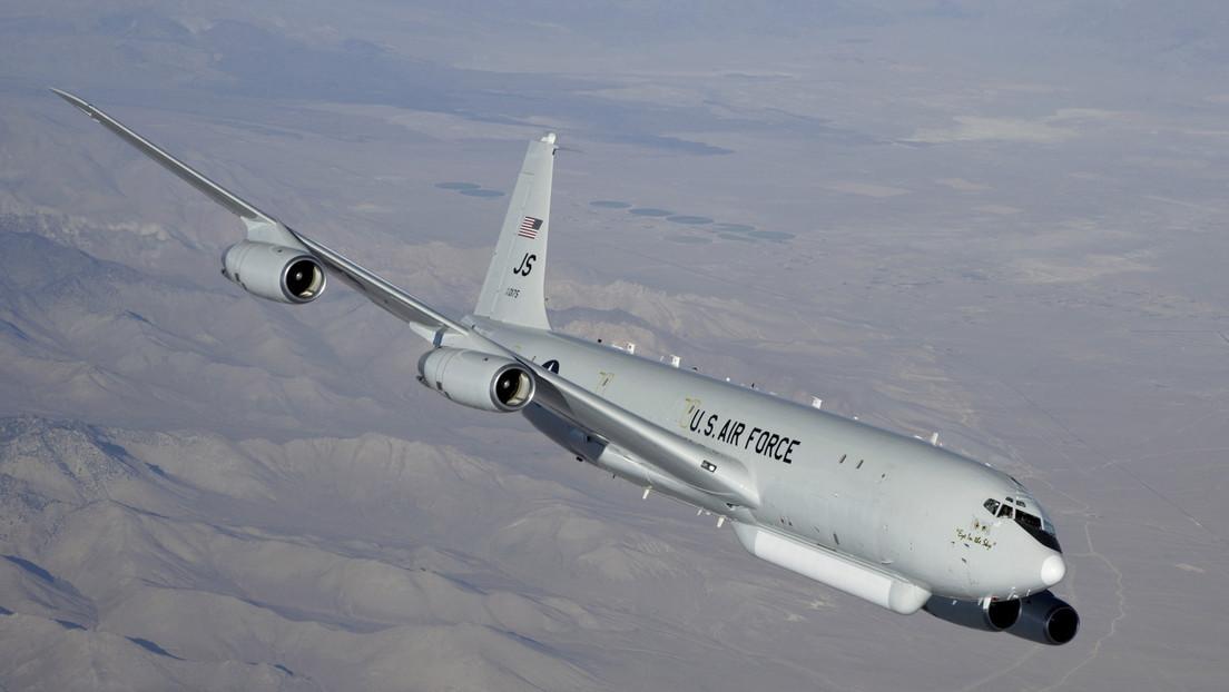 Reportan que un avión espía de EE.UU. se acercó a la costa china por tercera vez en una semana
