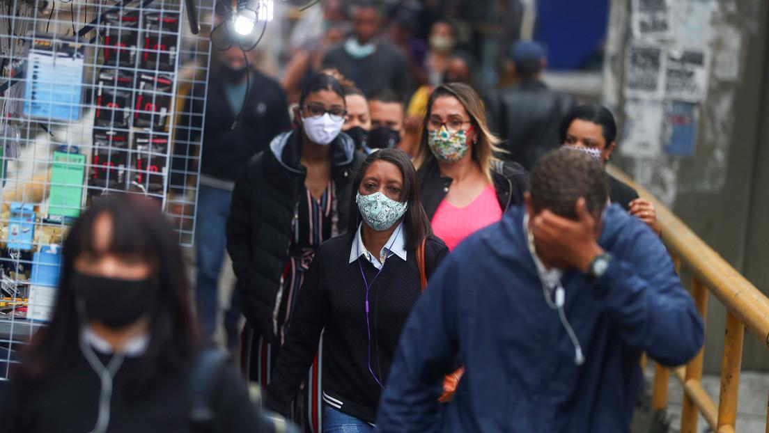 La OMS asegura que Brasil ha alcanzado una meseta en el brote de covid-19