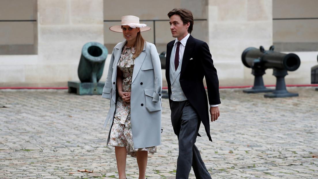 La princesa Beatriz de York, nieta de Isabel II, se casa con un magnate italiano en una ceremonia secreta a la que asistieron unas 20 personas