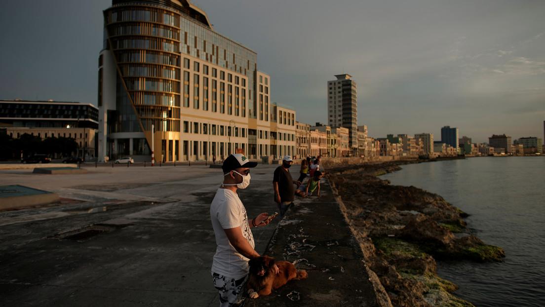 Un grupo de ciclistas recorre EE.UU. en rechazo al bloqueo de Cuba
