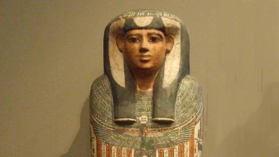 Revelan cómo murió 'la mujer que grita', una momia egipcia de más de 3.200 años
