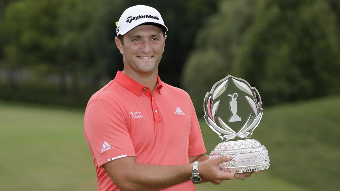 El golfista español Jon Rahm gana el torneo Memorial y se convierte en el número uno del mundo