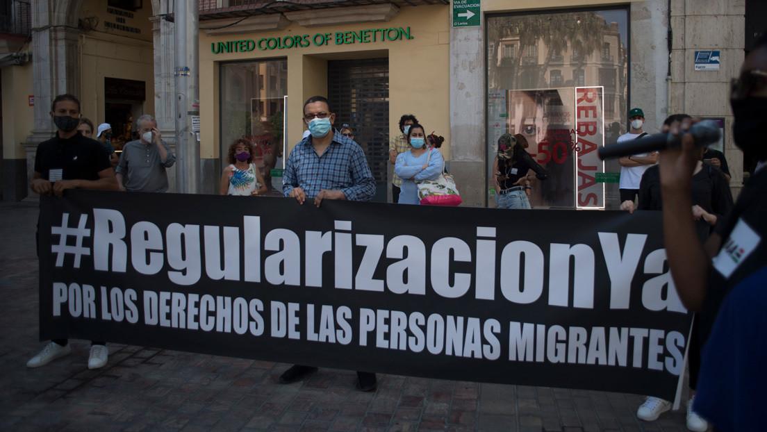 España: Los migrantes indocumentados reclaman no ser olvidados en la crisis del coronavirus