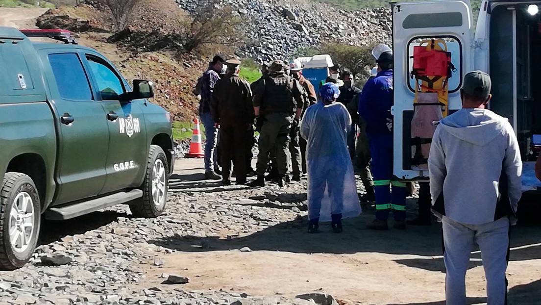 Explosión en una mina al norte de Chile deja dos muertos