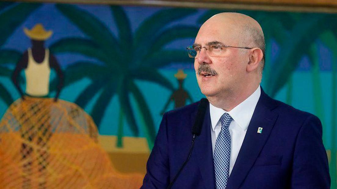 El nuevo ministro de Educación de Brasil da positivo a la prueba de coronavirus