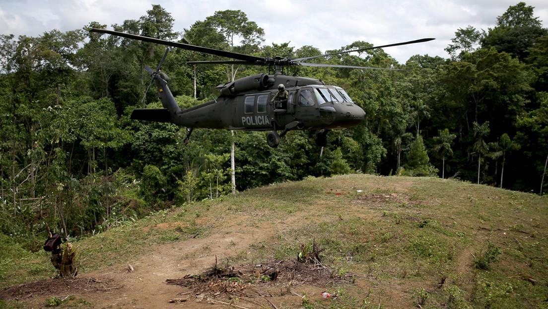 9 muertos tras accidente de helicóptero militar — Colombia