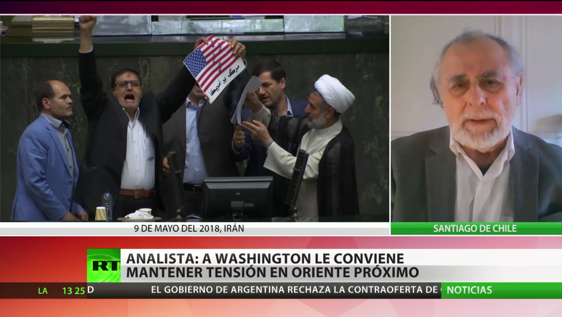 EE.UU. busca un nuevo pacto nuclear con Irán al salir del acuerdo