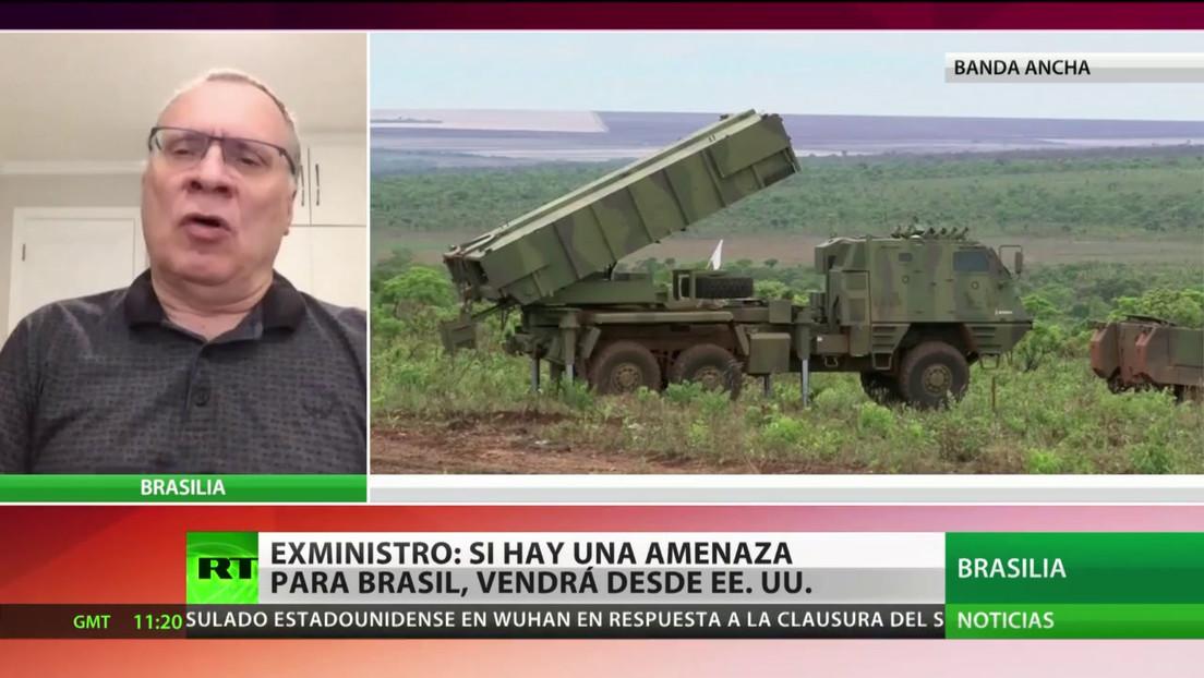 Exministro de Justicia: Si hay una amenaza para Brasil, vendrá desde EE.UU.