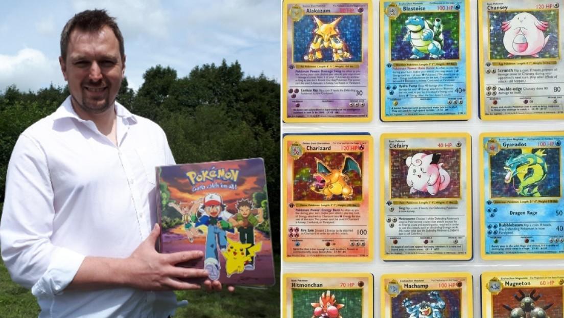 Subastan la primera edición completa de cartas de Pokémon a un costo que puede llegar a 44.000 dólares