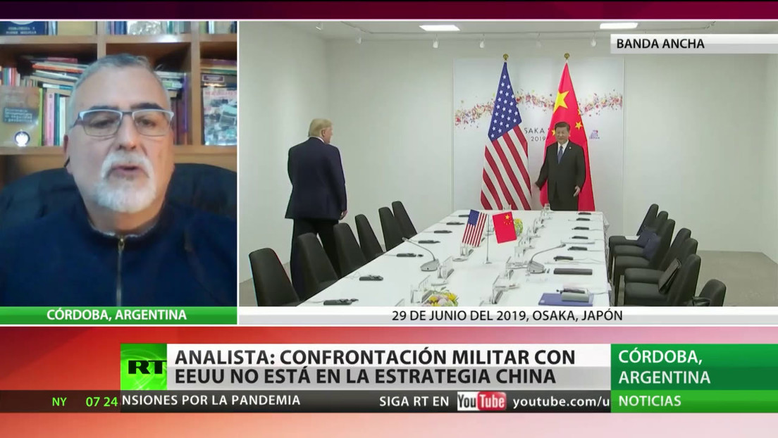 Experto: La confrontación militar con Washington no está en la estrategia de Pekín